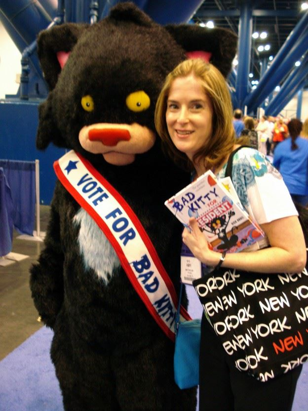 Me with Bad Kitty at TXLA