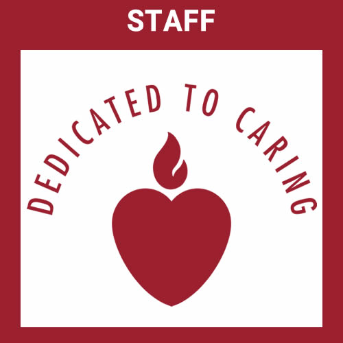 staff dedicated to caring