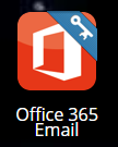 Office 365 tile in Webdesk