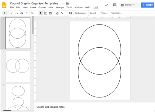 graphic organizer template preview