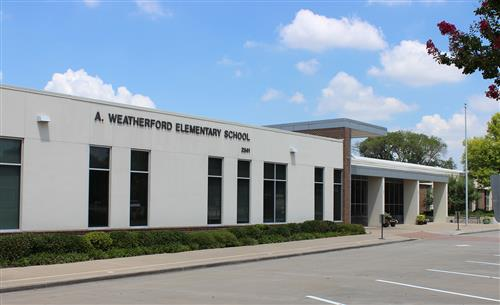 Weatherford Elementary Facade