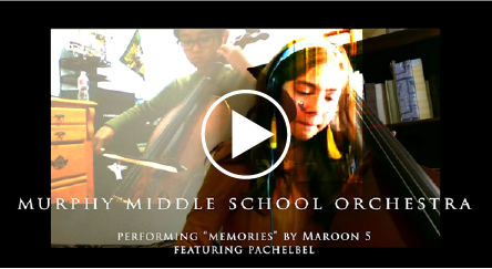 Link to Video, Murphy MS Orchestra performance