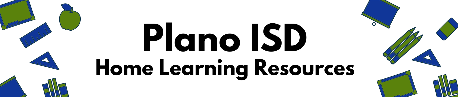Plano ISD Home Learning Resources