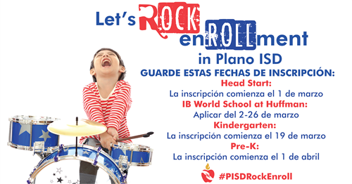Let's Rock Enroll image in Spanish