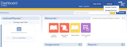HMH / HMH online teacher & student login