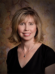 Head and Shoulders Portrait of School Board President Missy Bender