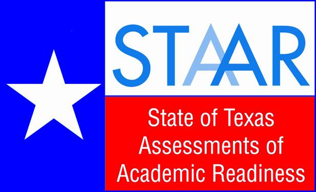 STAAR Logo - blue with white star