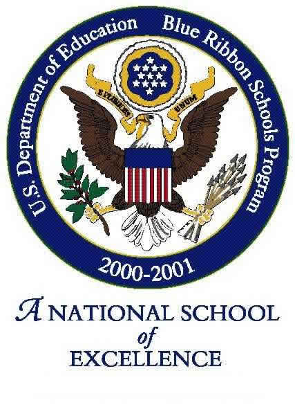 Blue Ribbon School badge