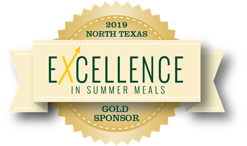Excellence in Summer Meals Gold Sponsor
