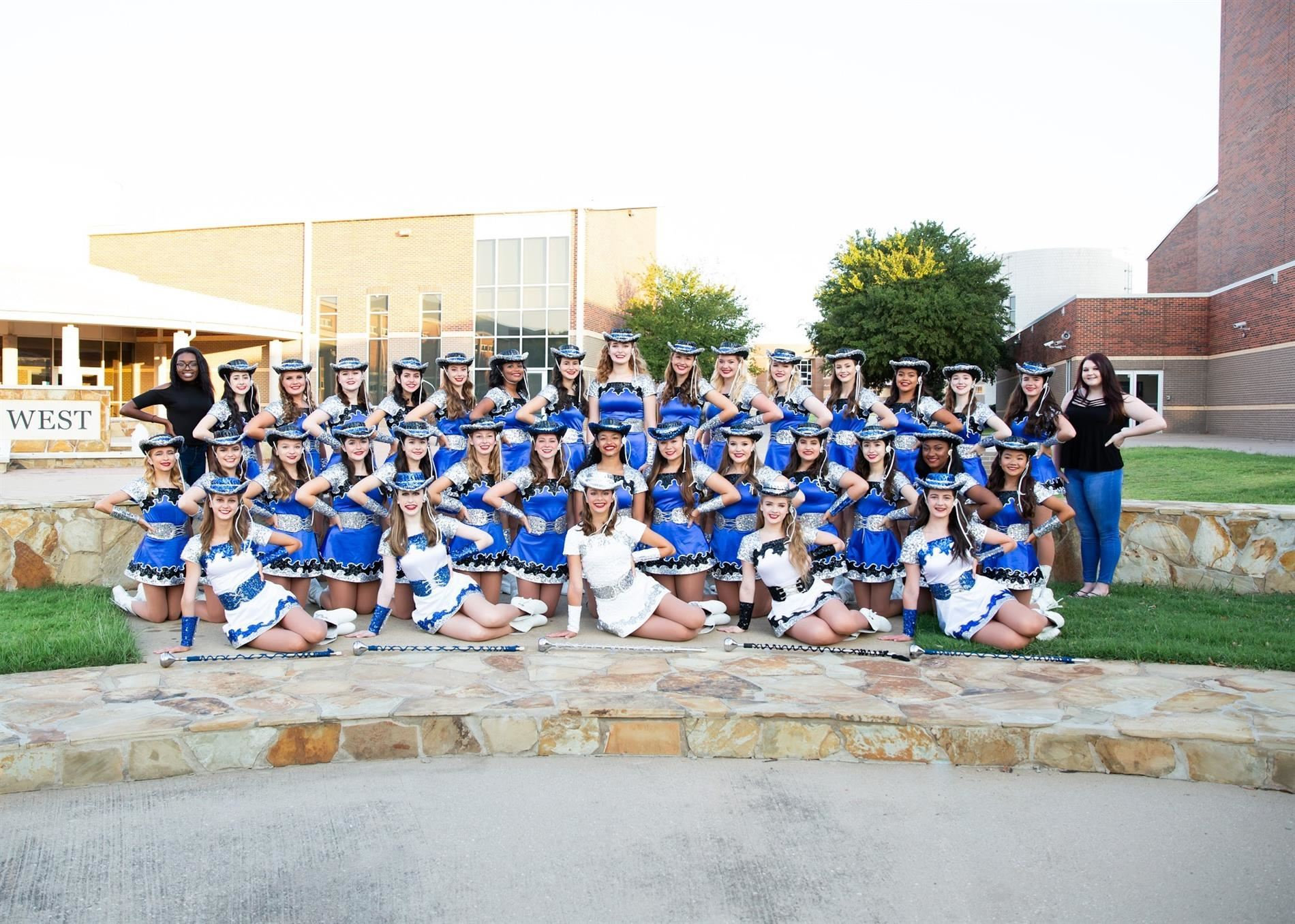 Plano West Drill Team