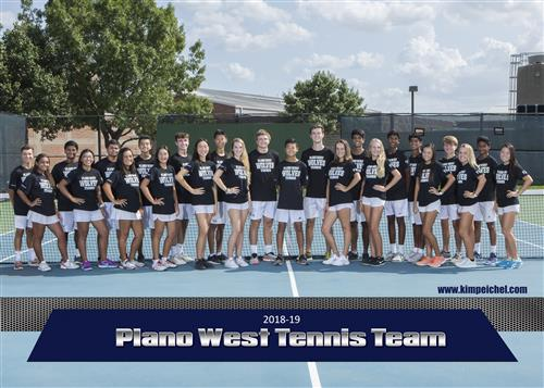 plano west tennis team pictures
