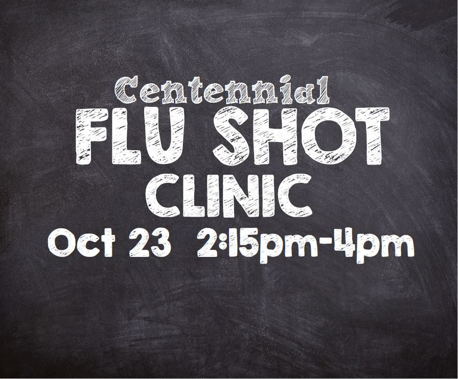 centennial flu shot save the date