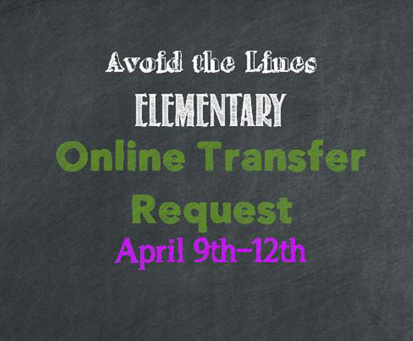 elementary online transfer request numbering system