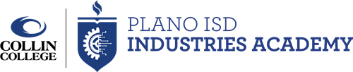 Collin College & Plano ISD Industries Academy Combined Logo