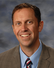 Rice Middle School Principal Christopher Glasscock