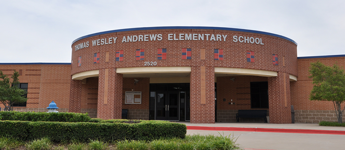 Andrews Elementary School front entrance
