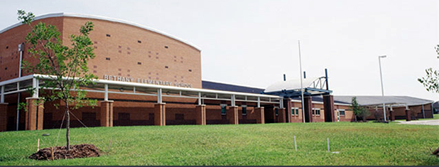 Bethany Elementary School front entrance