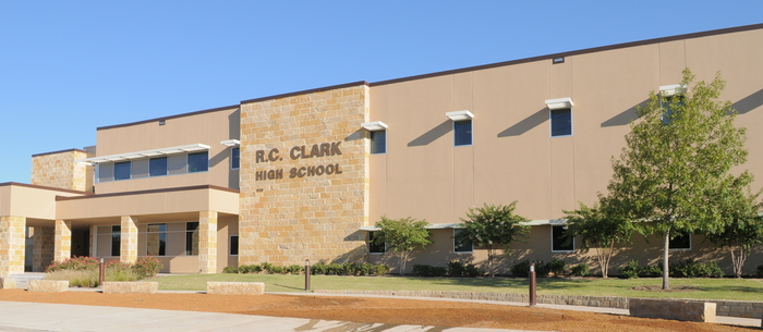Clark High School front entrance
