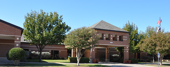 Gulledge Elementary School front entrance
