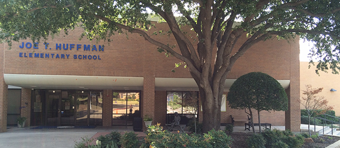 Huffman Elementary School front entrance