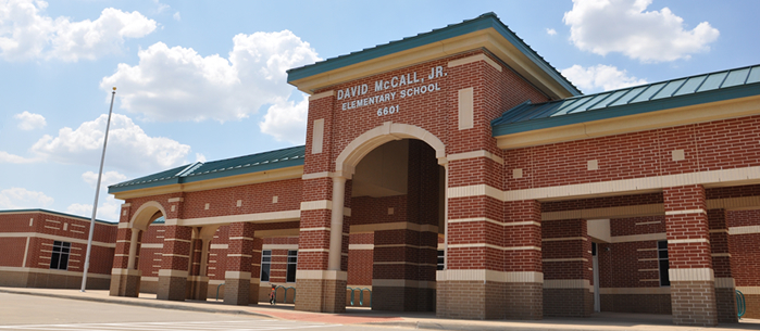 McCall Elementary School front entrance