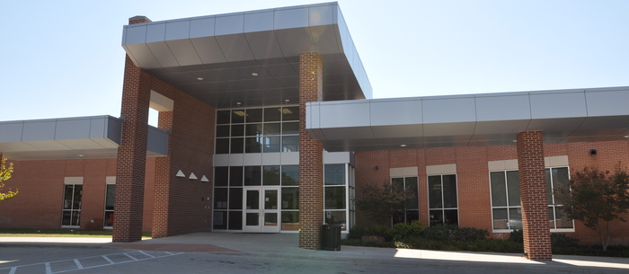 Meadows Elementary School front entrance