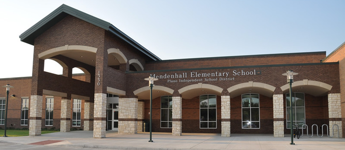 Mendenhall Elementary School front entrance