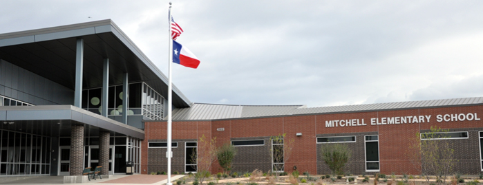 Mitchell Elementary School front entrance