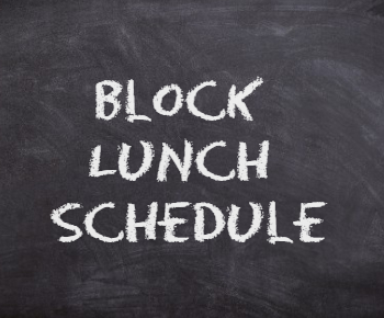 Block Lunch Bell Schedule