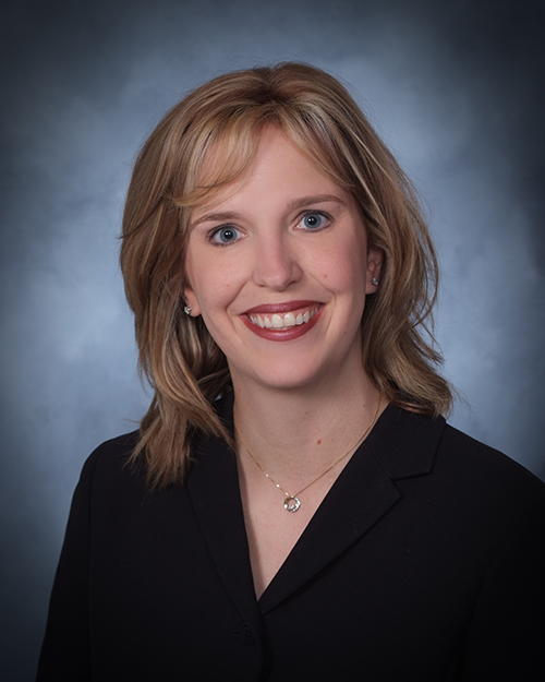 Image of Daffron principal: Stefanie Ramos.