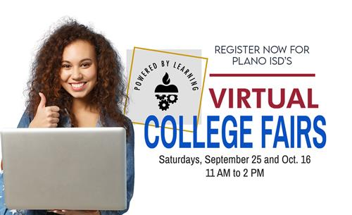 Register for Plano ISD's Virtual College Fairs