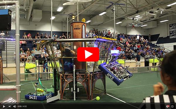 Link to robotics tournament video