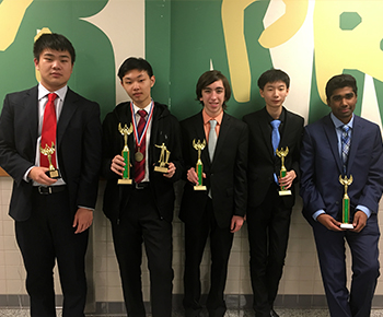 Jasper High School Speech and Debate winners