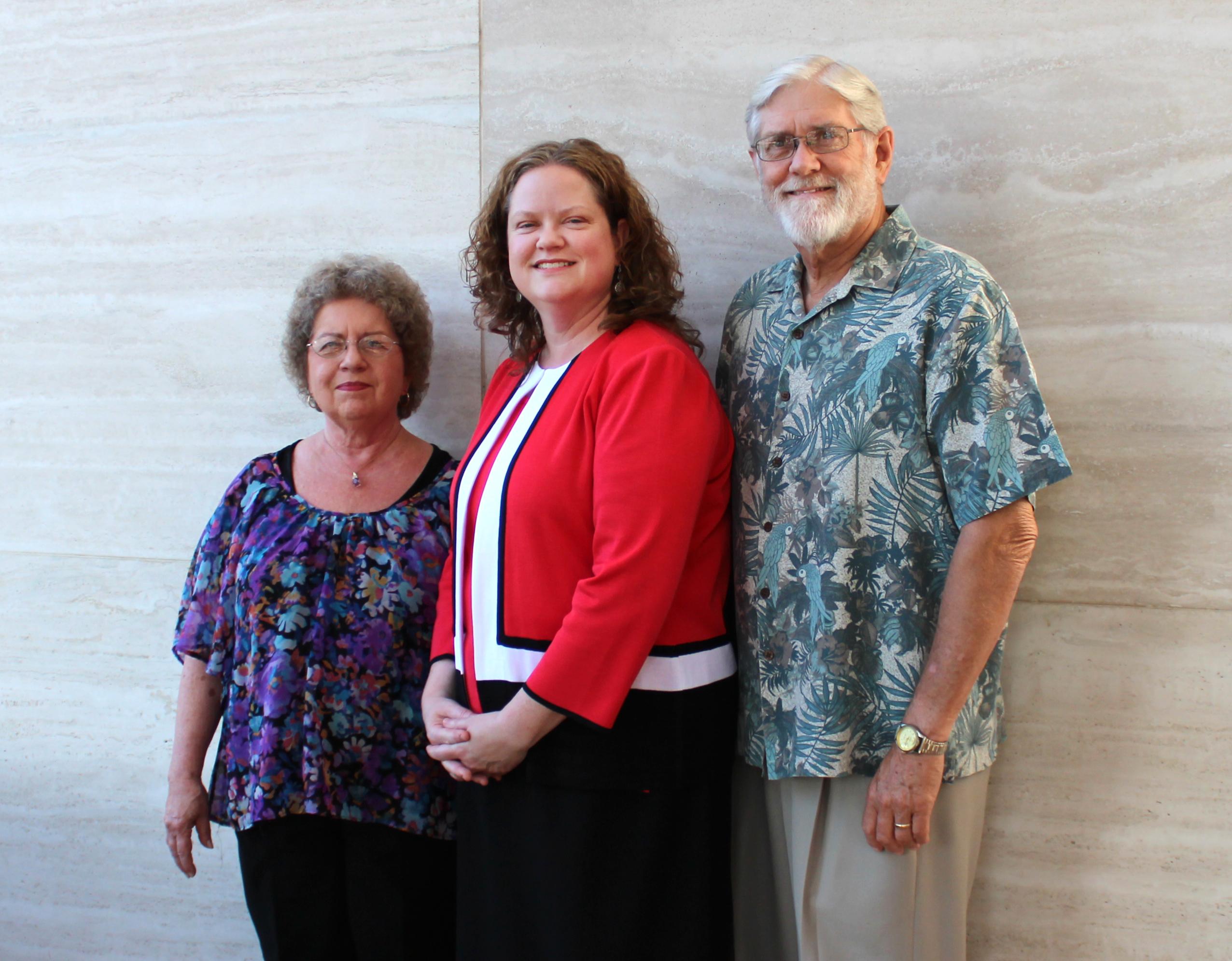 Dr. Brockman and family