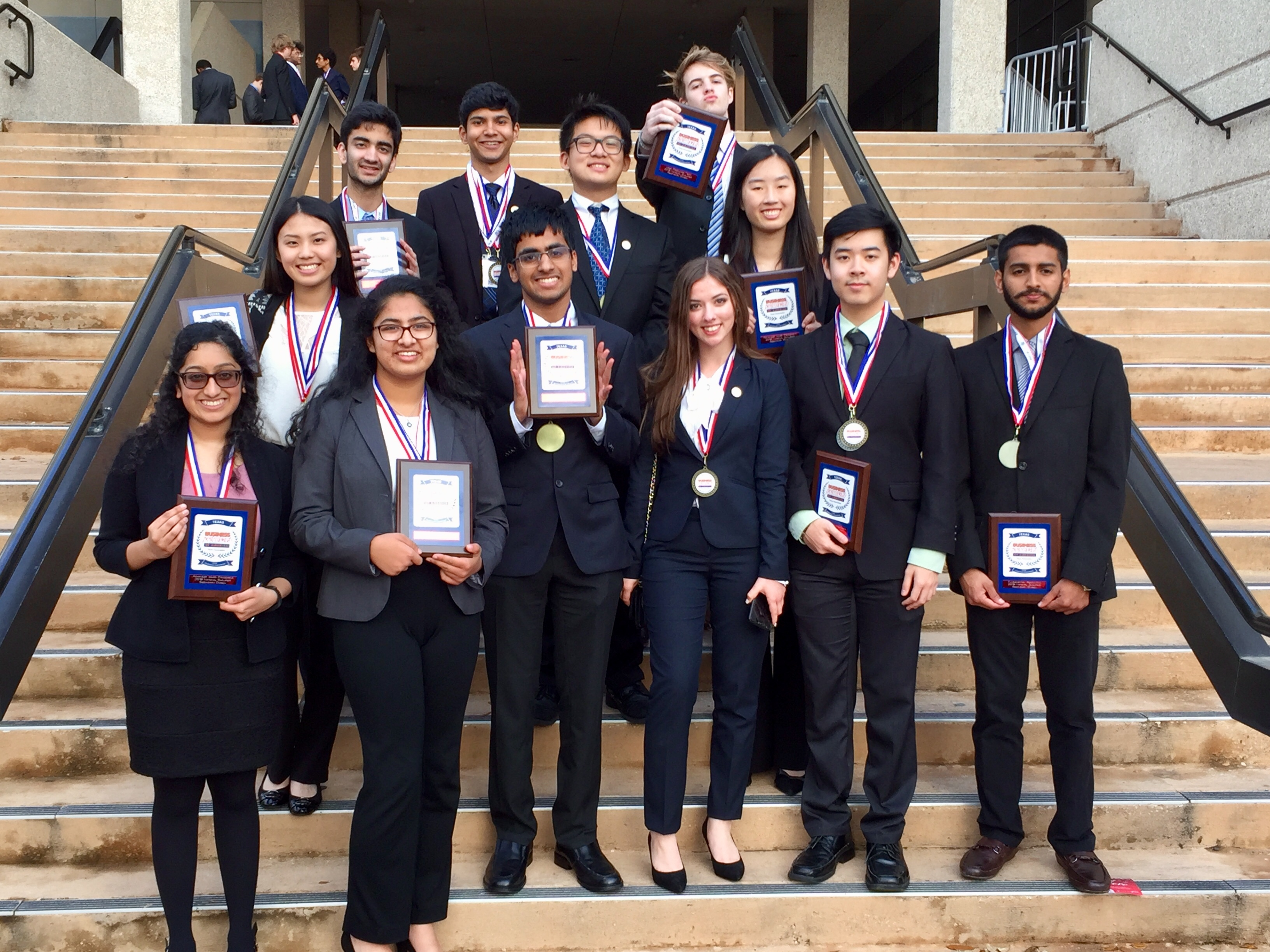 BPA Plano and Plano West students going to National competition