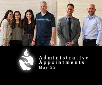 Adminstrative Appointments