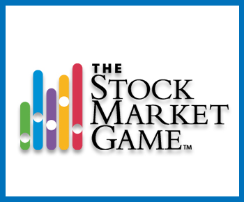 Stock market game logo