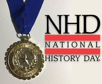 National History Day logo and medal