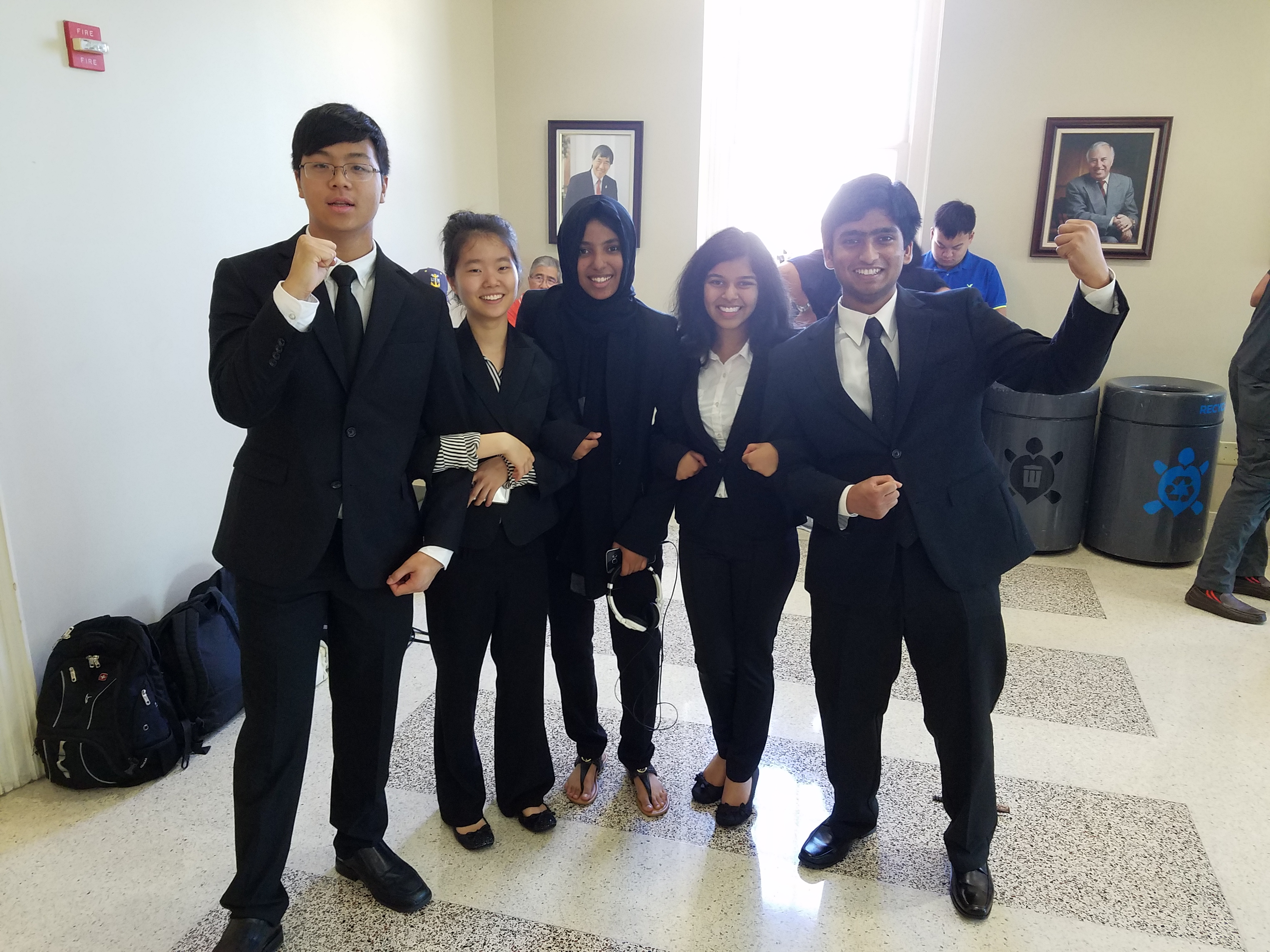 PESH finalists at National History Day competition