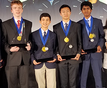 Texas state team at MATHCOUNTS nationals
