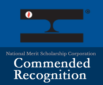 National Merit logo - Commended Recognition