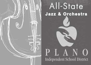 All-State Jazz & Orchestra/PISD logo