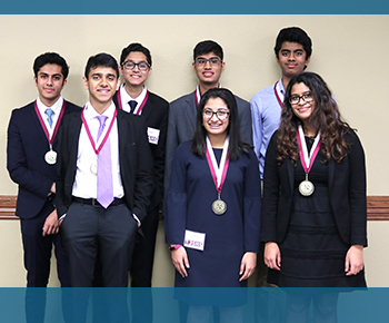 Jan. 18, 2019 - Texas Junior Science & Humanities Symposium: 7 Students Earn Finalists Standing, 3 Finalists Qualify for National Competition