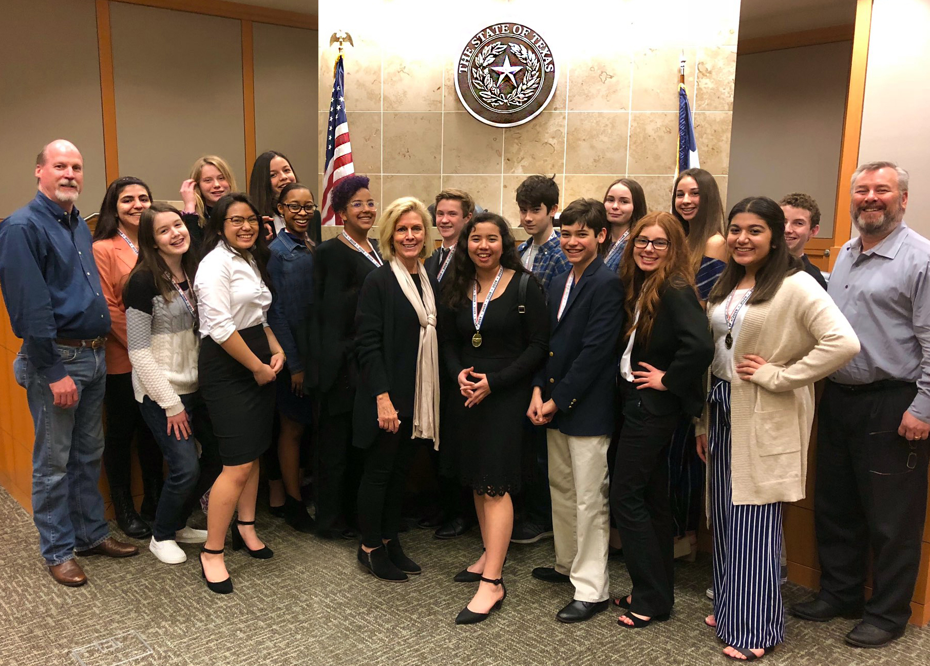 Hendrick MS Mock Trial Team