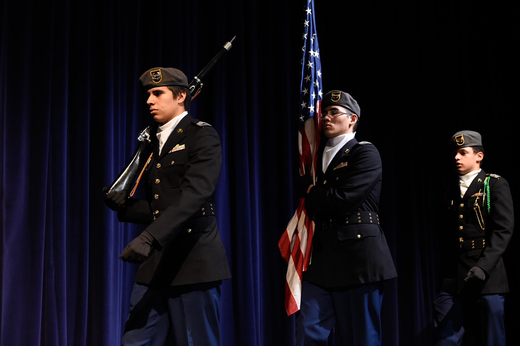 Williams Panther Battalion Color Guard