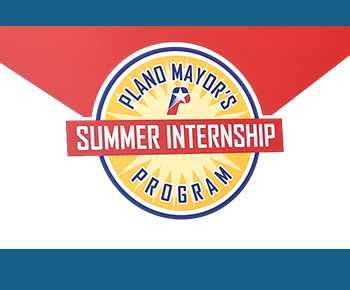 Plano Mayor's Summer Internship logo