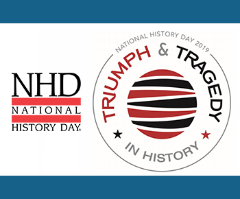 National History Day logo and theme - Triumph & Tradgedy