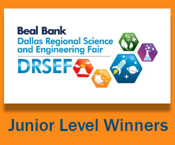 Beal Bank Dallas REgional Science and Engineering Fair - Junior Level