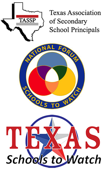 logos TASSP, National Forum Schools to Watch, TX Schools to Watch