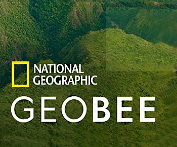 National Geographic logo/State of Texas Geobee